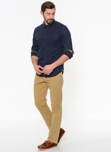 Timberland Uzun Kollu Gömlek Lacivert